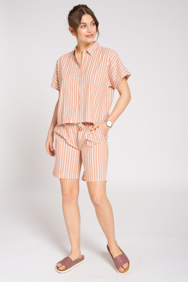 recolution Shorts Damen Stripes